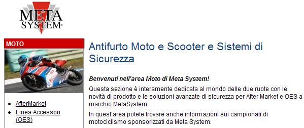 Allarme Moto