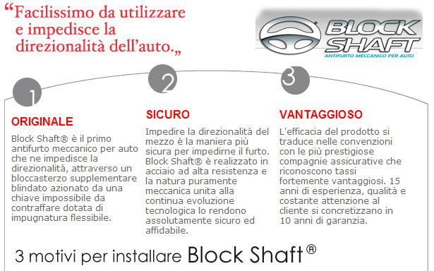 Antifurto Block Shaft